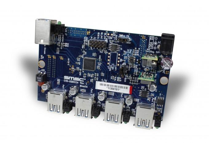 Îöåíî÷íàÿ ïëàòà Microchip EVB-USB5534-01