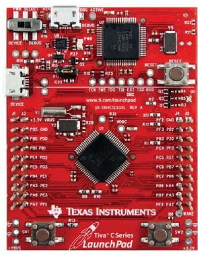 Evaluation Kit Texas Instruments Tiva C Series LaunchPad (EK-TM4C123GXL)