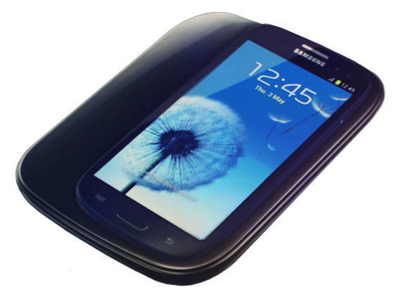 Wireless charging kit for Samsung Galaxy S3