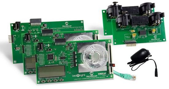 Creation Destruction 2013 Core Radio: Microchip DMX512A Starter Kit (DV160214-2