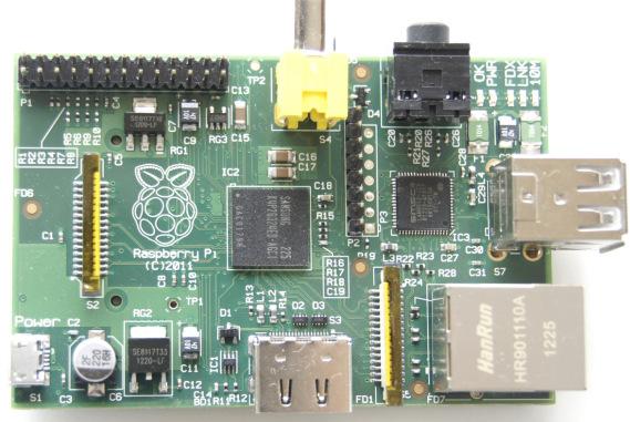 Одноплатный компьютер Raspberry Pi.