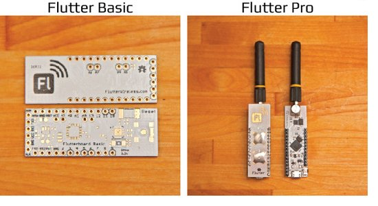 Flutter Wireless - Flutter