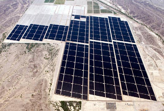 Solar PV installation, Yuma County, Arizona