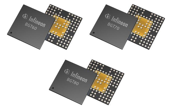 Infineon - BGT60, BGT70, BGT80