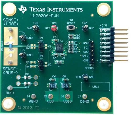 Оценочный модуль Texas Instruments LMP92064EVM