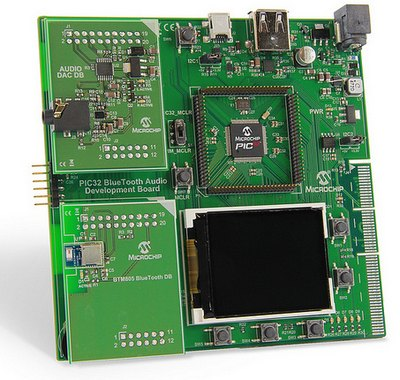 Microchip Introduces the PIC32 Bluetooth Audio Development Kit
