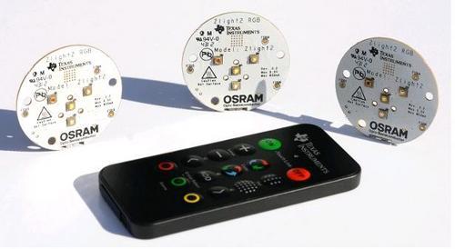 Отладочный набор ZigBee Light Link: удаленное управление светодиодными системами освещения