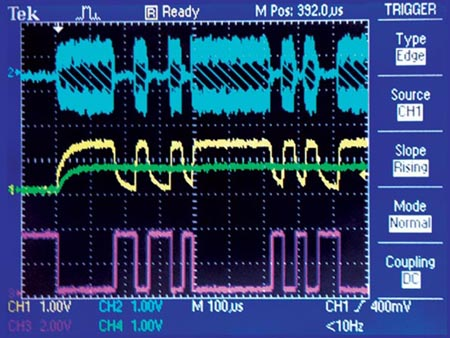 Simple Circuit Communicates Over Low-Voltage Power Lines
