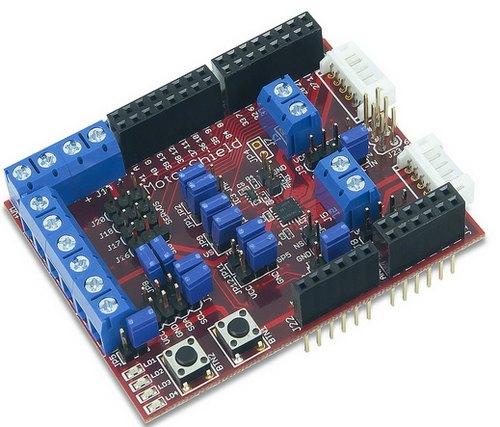 Плата расширения Digilent chipKIT motor control shield