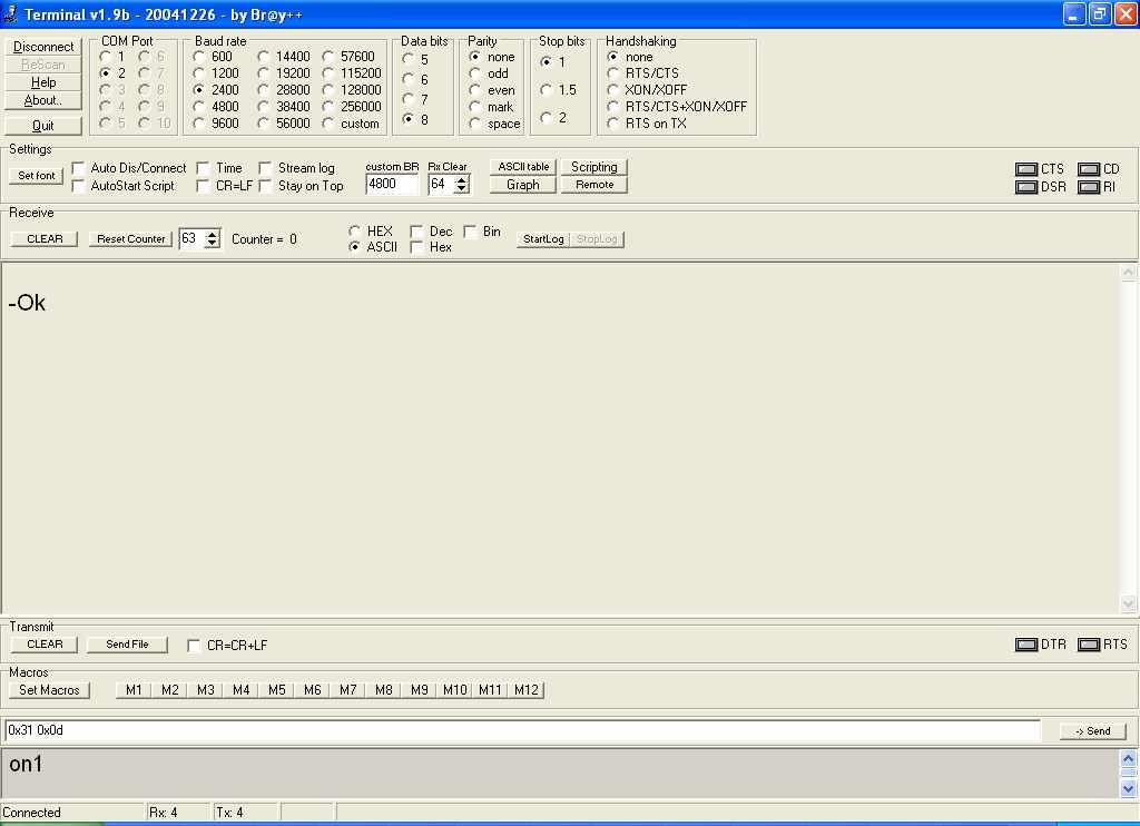 8-канальное управление устройствами по USB с помощью ATiny2313