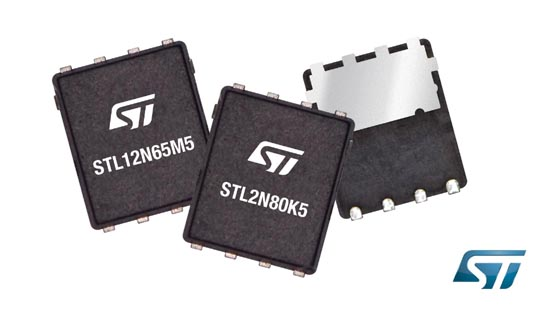 STMicroelectronics - PowerFLAT 5×6 HV, PowerFLAT 5×6 VHV