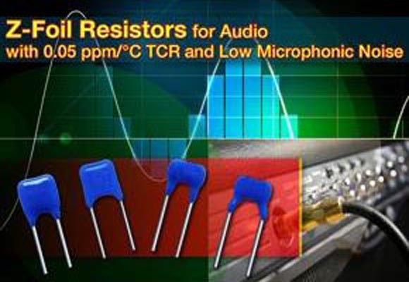 Vishay - AUR ultra-high-precision resistors
