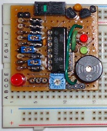 микросхема 4069 схема включения