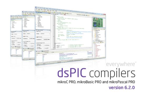 MikroElektronika  - dsPIC/PIC24 compilers