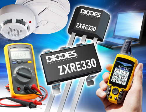 Voltage Reference from Diodes Incorporated Delivers High Stability at Low Power