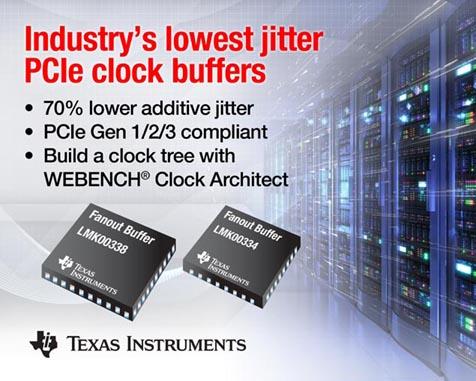 Texas Instruments - LMK00334, LMK00338