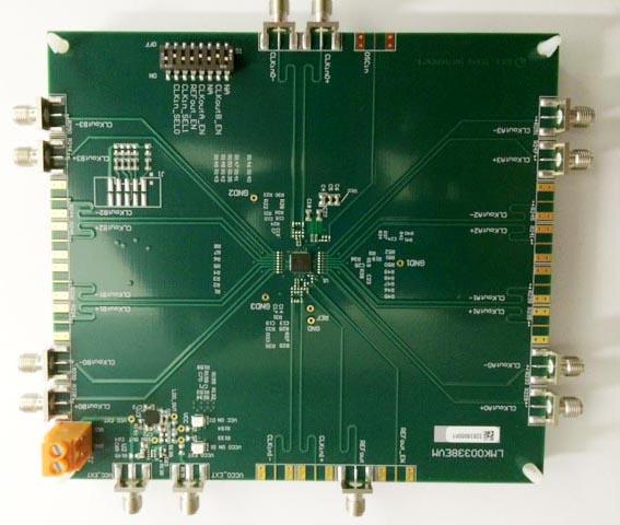 Texas Instruments - LMK00338EVM