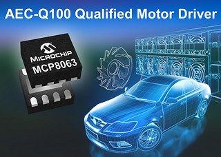 Компания Microchip анонсировала специализированную микросхему MCP8063
