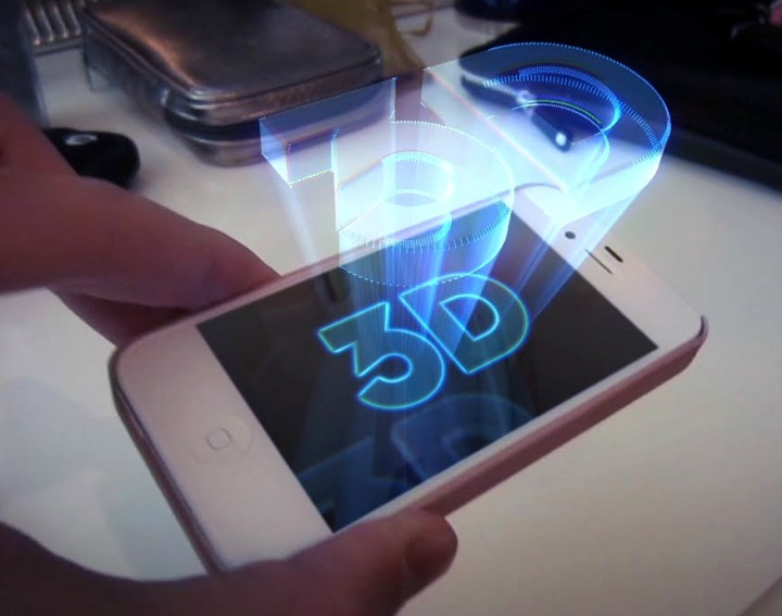 Smartphone Holograms could be a Reality