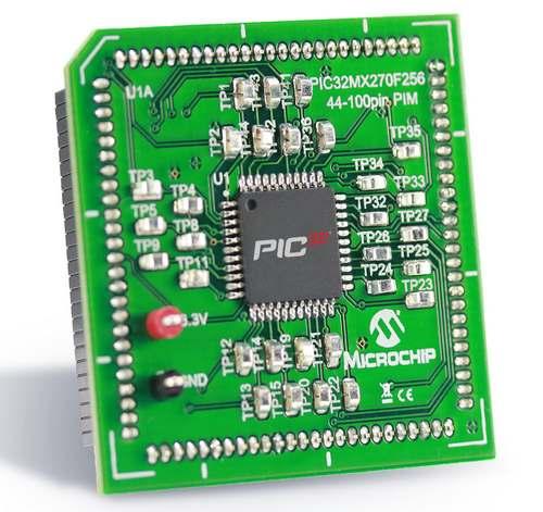 Microchip PIC32MX270F256D Plug In Module (MA320014)