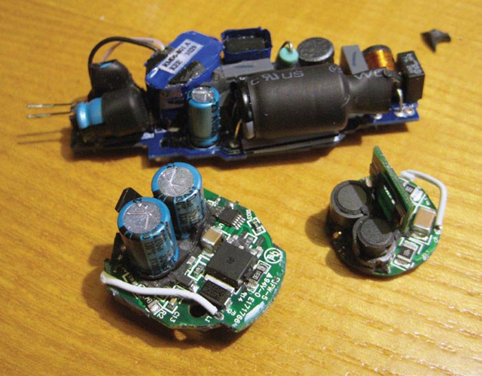 Teardown: LED light shrinks size, cost with non-isolated driver
