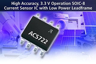 Allegro MicroSystems Announces New High Accuracy Current Sensor ICs