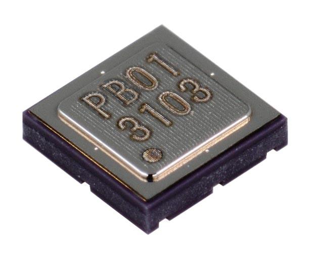 MEMS altitude pressure sensor detects 50-cm changes