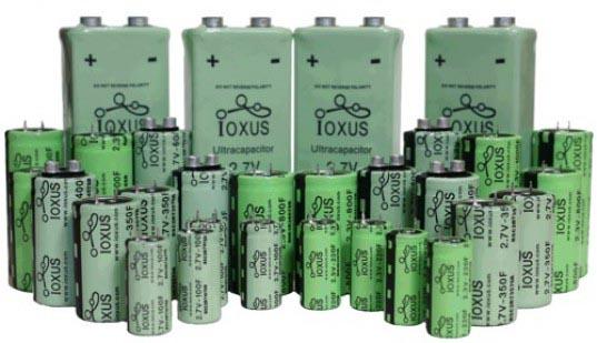Ионисторы IOXUS
