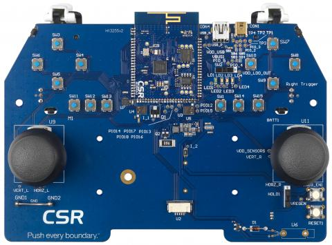 CSR dual mode Bluetooth® platforms enable faster development of low power, next-gen wireless gaming controllers