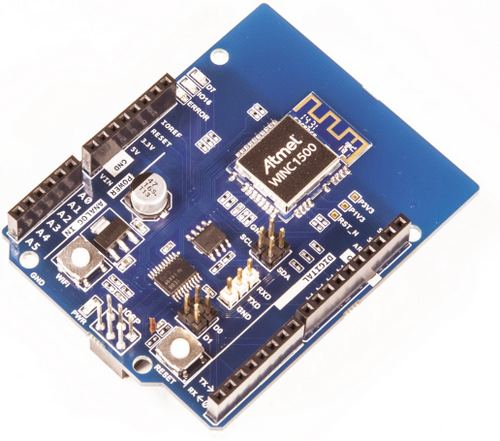 Atmel и Arduino выпускают плату расширения Arduino Wi-Fi Shield 101
