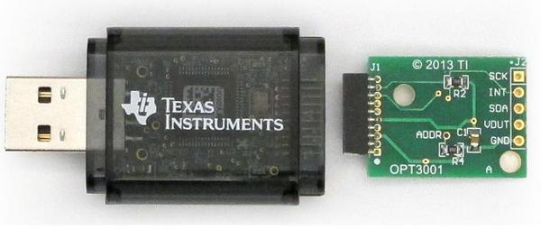Evaluation Module Texas Instruments OPT3001EVM
