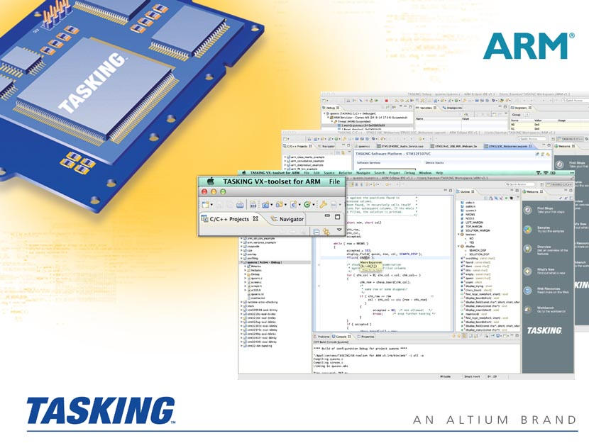 Altium releases its TASKING ARM Cortex-M Embedded Development Tools for the Mac