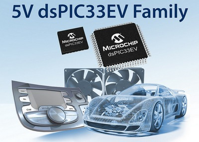 Microchip Technology Inc. announced the dsPIC33