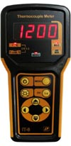 Переносной цифровой измеритель температуры Рэлсиб IT-8-K/K