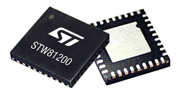 STMicroelectronics Unveils the Industry's Most Flexible and Highest-Performance Integrated Wideband RF Synthesizer