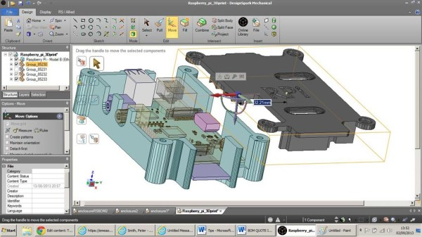 Free cad tool lets engineers model Free cad software for 3d printing