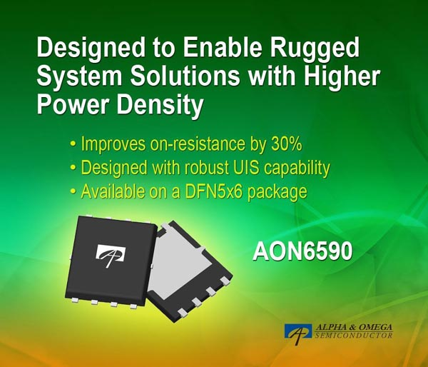 Alpha and Omega Semiconductor ������������ ����� 40-��������� MOSFET � �������������� ��������� ������ 0.99 ���