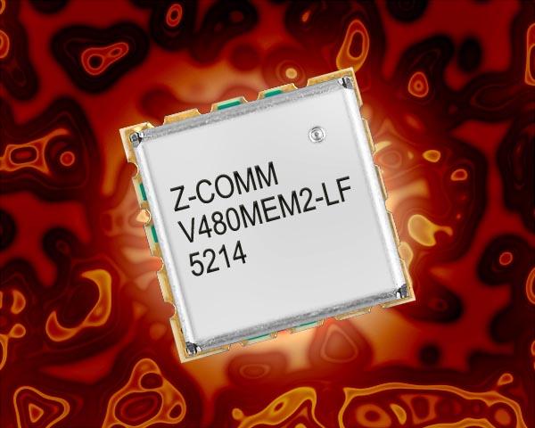 Z-Communications ���������� ����� ��� V480MEM2-LF � ��������� ���������������� ������� �����