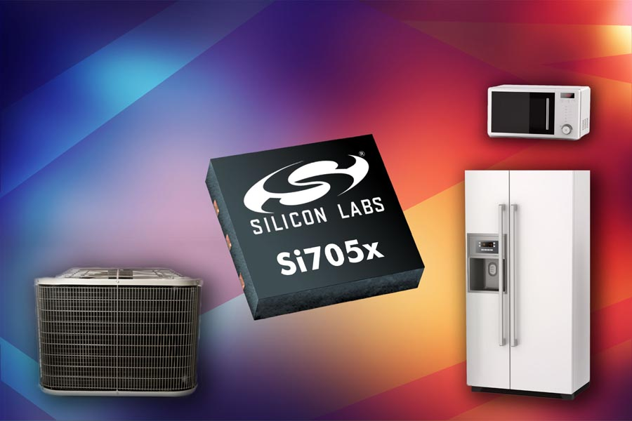 Silicon Labs Introduces New Ultra-Low-Power Temperature Sensors