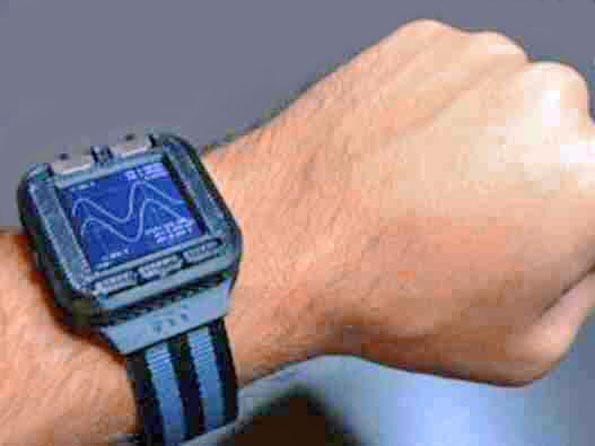 Oscilloscope Watch: The Time Of Your Engineering Life