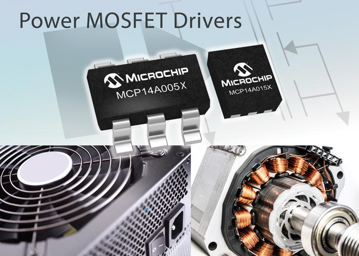 New Power MOSFET Drivers From Microchip Feature Thermally Efficient, Small Packages For Improved Efficiency