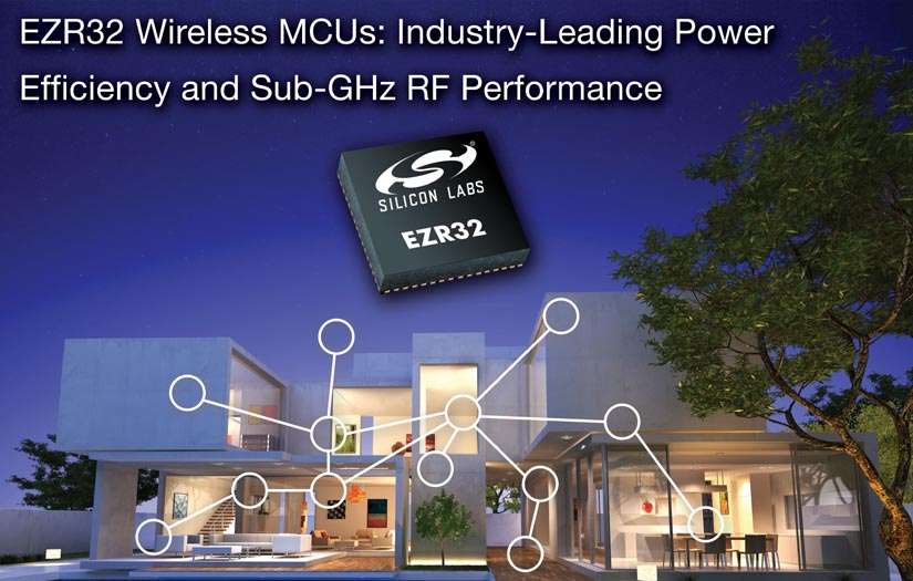 Silicon Labs Simplifies IoT Connectivity with New 32-bit sub-GHz Wireless MCUs
