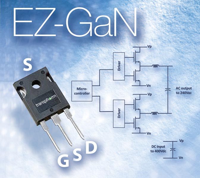 Transphorm Announces Industry's First 600V GaN Transistor in a TO-247 Package