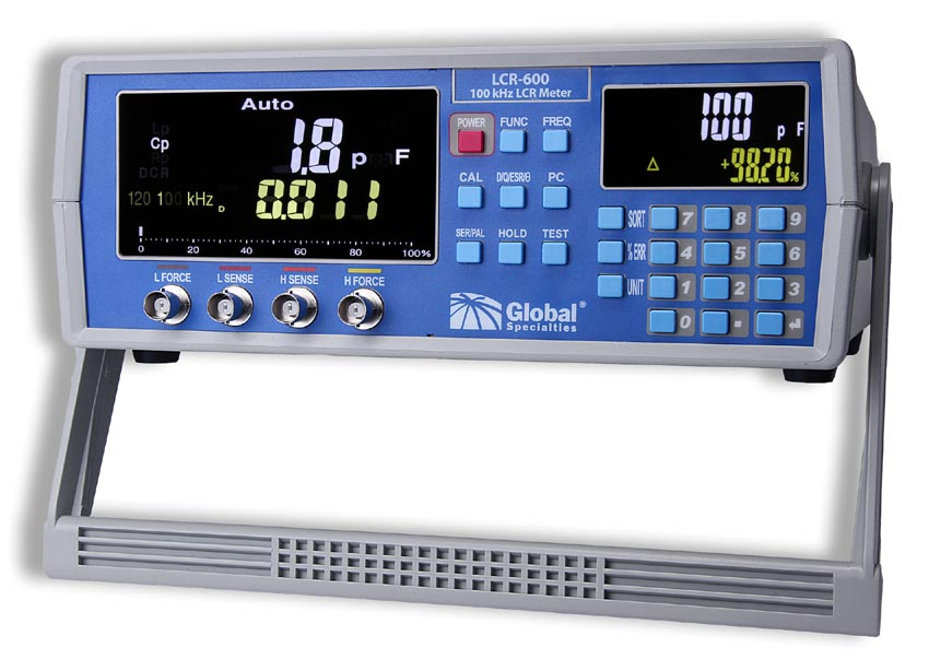 New 100 kHz High Precision LCR Meter