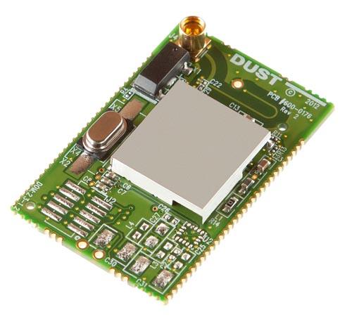 Precise wireless temperature sensor powers itself