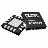 Datasheet Analog Devices AD8338ACPZ-RL