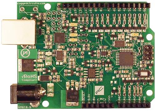 Ruggeduino - усовершенствованная Arduino-совместимая платформа