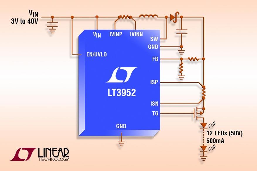 Linear Technology - LT3952