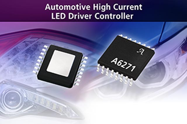 Allegro MicroSystems, LLC Announces New Automotive High Current LED Controller