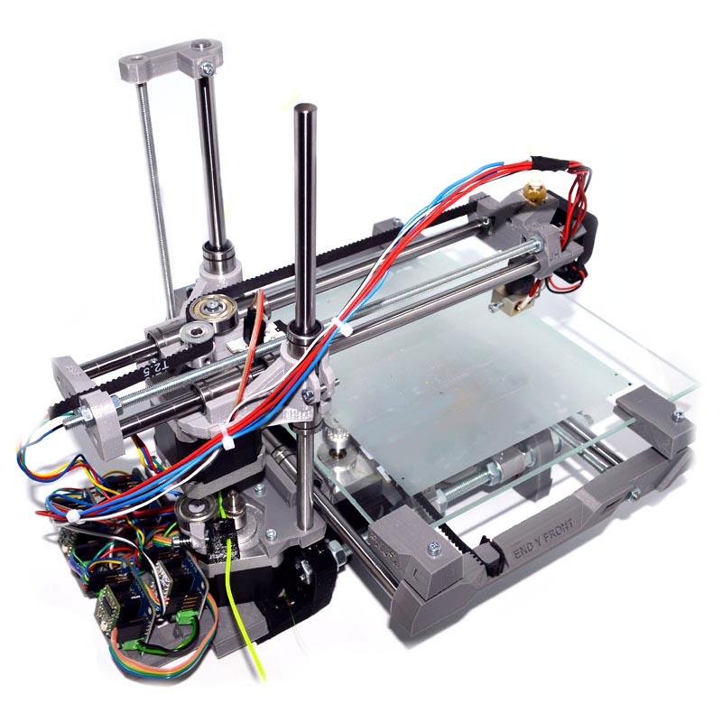 Когда 3D принтеры были большими: хроника лаборатории Мастер Кит